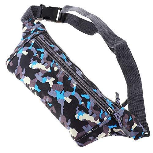 Pack de Taille en Plein air Mini Ceinture de Course étanche, Gym Fitness Travel Waist Pouch Bum Bag Hommes Femmes Sports Waist Pack Belt