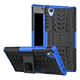FoneExpert® Sony Xperia L1 Handy Tasche, Hülle Abdeckung Cover schutzhülle Tough Strong Rugged Shock Proof Heavy Duty Hülle Für Sony Xperia L1