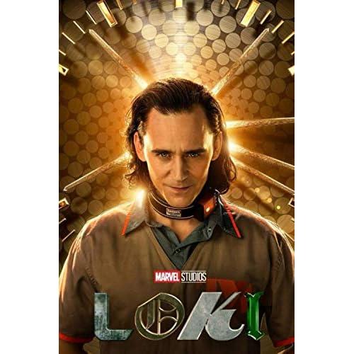 Loki - Clock: Lined Notebook, Journal, Diary   6