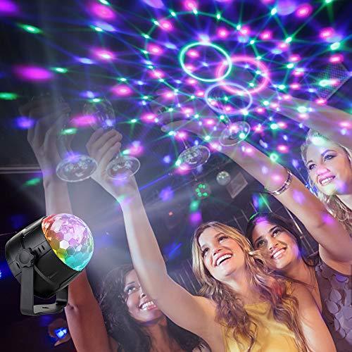 Anpro Bombillas de iluminación de discoteca