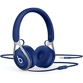 Beats Ep Wired On-Ear Headphones - Battery Free For Unlimited Listening, Built In Mic And Controls - Blue