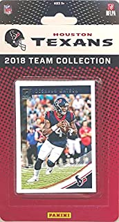 4fe0a0d5eed Houston Texans 2018 Donruss NFL Football Factory Sealed Limited Edition 11 Card  Complete Team Set Deshaun