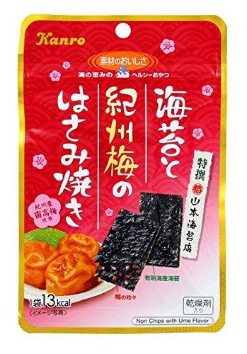 海苔と紀州梅のはさみ焼き 6袋