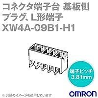 オムロン(OMRON) XW4A-09B1-H1 (1個) コネクタ端子台基板側端子台 ソケット 9極 (端子ピッチ3.81mm) NN