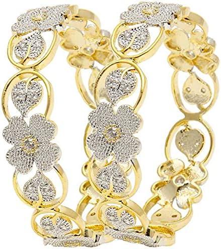 Bangle Bracelet Jewelry set Alloy Bangle Set (Pack of 2) Size 2-6