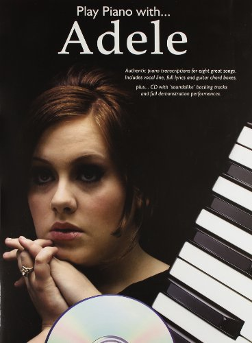Play Piano with... Adele, w. Audio-CD (Play Piano With Book & CD)