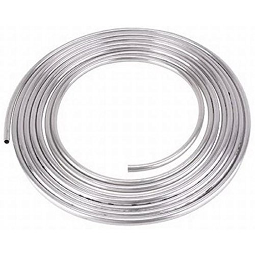 Aluminum Coiled Tubing Fuel Line, 3/8 Inch, 30 Feet