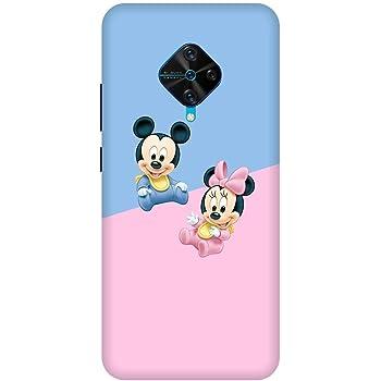 Disney :: Mickey Mouse :: Cute :: VIVO S1 PRO Multicolor Mobile Back Cover