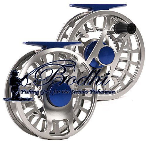 Bodhi Fishing Click Drag Fly Reel CNC Cut Aluminum for Lightweight Fly Rods 5/6 Weight