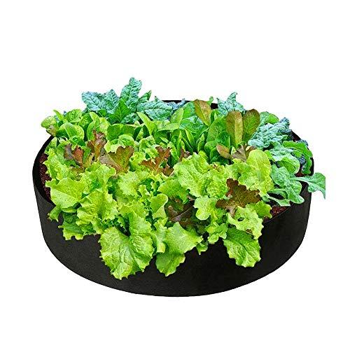 BOENTA Orto Verticale Sacchi per Patate Pomodoro Coltiva Il Sacchetto di Compost Veg Crescere Borse Coltiva Il Sacchetto di Compost Black,90cm