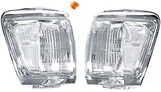 Clear Front Corner Signal Lights by DEPO fit for 1992-1995 Toyota 4Runner
