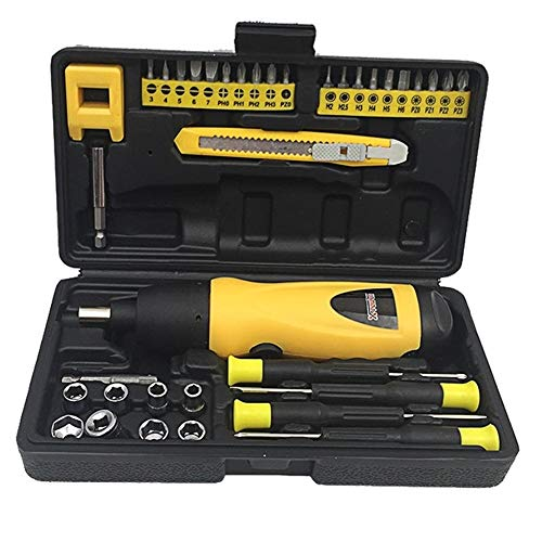 Mächtig Mini-Akku-Bohrschrauber Haushalt Reparatur-Werkzeug Trockene Batterie Elektro-Schrauber Kombination Set, Gut- und Qualitäts