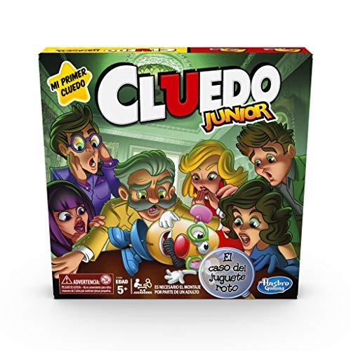 Hasbro Gaming- Cluedo Junior, Multicolor (C1293546)