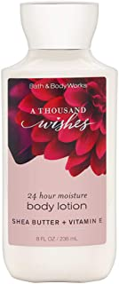 Bath & Body Works A Thousand Wishes Shea & Vitamin E Body Lotion, 8 Ounce