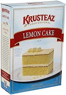 Krusteaz Professional Lemon Cake Mix 5 lb, 6 per case