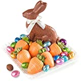 Bunnies & 6 Chocolate Covered Strawberries