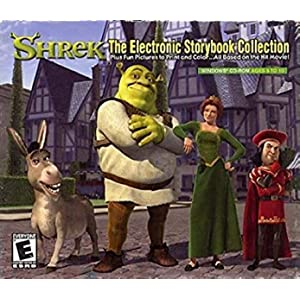 Shrek The Electronic Storybook Collection (CD-ROM), Product #52313