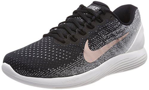 Nike Lunarglide 9 X-Plore Mens Running Trainers 904745 Sneakers Shoes (UK 7 US 8 EU 41, Black Metallic red Bronze 001)