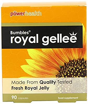 Power Health Bumbles Royal Gellee 500mg 90 Capsules by Power Health