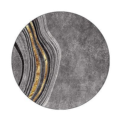 Utilice tejidos mezclados de alta calidad, grosor de 8 mm, cómodos y transpirables, aislamiento acústico, absorción de impactos, sin decoloración, sin deformación, resistencia a las manchas, fácil de limpiar. Estilo abstracto: efecto visual de contra...