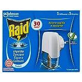 Raid Liquido Elettrico Antizanzare 30 Notti - 1 Diffusore + 1 Ricarica - 21 ml
