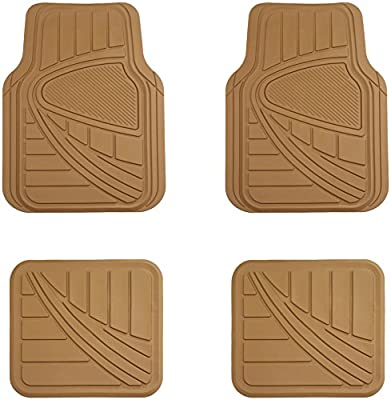 AmazonBasics 4 Piece Car Floor Mat