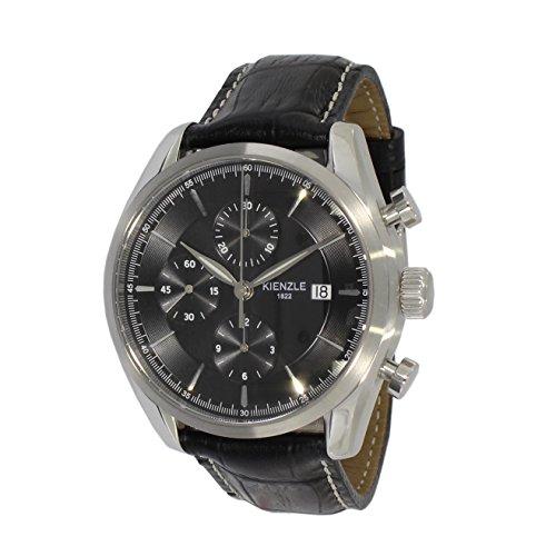 KIENZLE Uhr Chronograph ETA Analog mit Leder Armband K17-00421