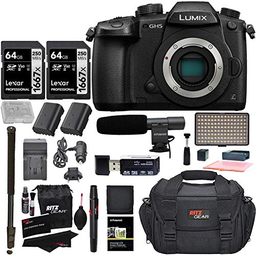 Panasonic GH5 Lumix 4K Mirrorless I…