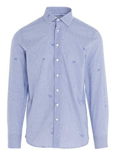 Etro Luxury Fashion Herren 1290832550200 Blau Baumwolle Hemd | Herbst Winter 20