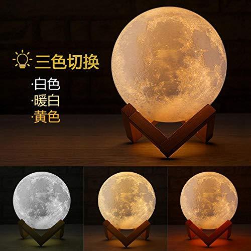 Nachtlampje maanlicht 3D slaapkamer maan nachtlampje kinderen nachtlampje nachtlampje stopcontact