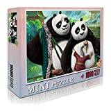 Po1000 Piezas de Rompecabezas clásicokungfu PandaJigsaw Toy Lover Gift decoración del hogar27.56 x 19.66' /70 * 50cm. Anime de Dibujos Animados