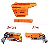 FenglinTech Maliang 3D Printing Appearance Decoration Part for Nerf Zombie Strike Hammershot Blaster - (Orange)
