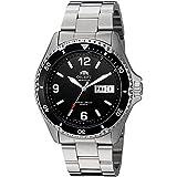 Orient Unisex Erwachsene Analog Automatik Uhr mit Edelstahl Armband FAA02001B3