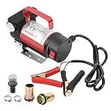 Bomba diésel eléctrica de 12 V CC, bomba de combustible, bomba de succión, bomba de transferencia de aceite, bomba de transferencia para líquido de combustible, para vehículos pesados, camiones