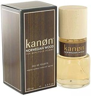 Kanon Norwegian Wood for Men, 100 ml - EDT Spray
