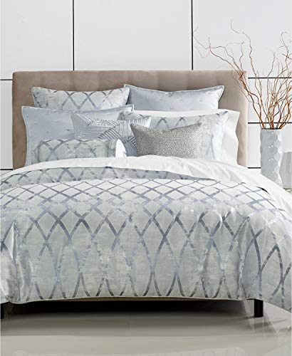 Hotel Collection Dimensional Full Queen Comforter with Geometric Pattern