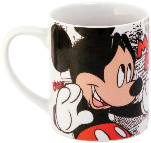Disney 770130 - Topolino Tazza in Porcellana in Confezione Regalo, 12x8.5x10 cm