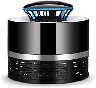 Electric Mosquito Killer with Trap Lamp Chemical-Free USB Powered UV LED Light Photocatalyst Fly Bug Dispeller with Suctio...