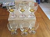 Set di 6bicchieri da birra Grimbergen bordati, da 25cl