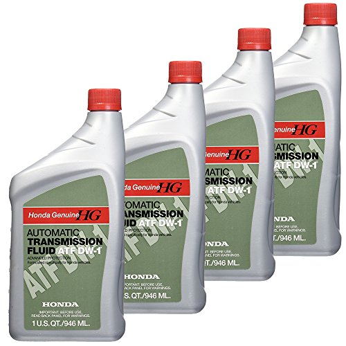 Honda FBA_08200-9008 08200-9008 Automatic Transmission Fluid, 4 Pack, 1 US QT /946 ML