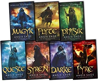 Septimus Heap Angie Sage 7 Books Collection Set Pack (Wizard Apprentice Series) by Septimus Heap (2012-05-04)