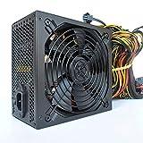 Dreafly 1800W Modular Mining Netzteil Netzteil für 8 GPU ETH Rig Ethereum Miner