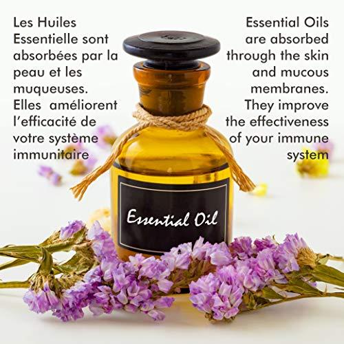 Camylle – Brume de Hammam – Emulsion von Ätherischen Ölen für Dampfbad – Eukalyptus – Atmungsaktiv – 250ml - 6
