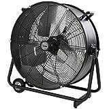BIMAR VI62. EU Ventilatore da Pavimento Diametro 60 cm Colore Nero