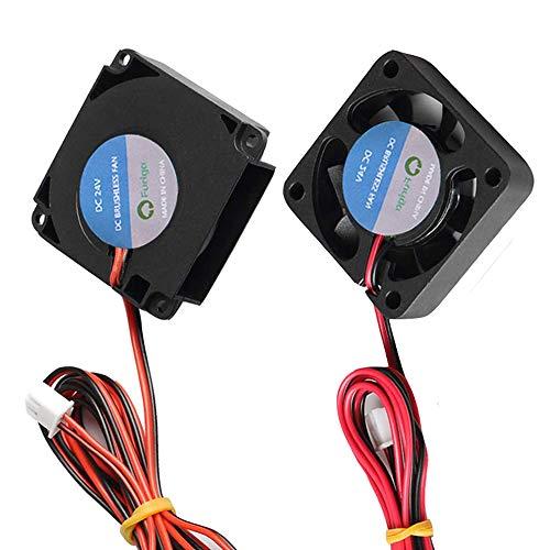 Furiga 4010 24 V ventilador para Ender 3 Ender 3 Pro 3D impresora 40x40x10mm ventilador círculo ventilador accesorios