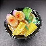5 * 2.6 cm Simulation Aimants pour Réfrigérateur Alimentaire 3D Miniature Ramen DIY Magnétique Réfrigérateur Autocollants Accessoires de décoration pour la Maison, Fruits de mer légumes