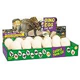 Culater Uova di Pasqua Giocattoli di Dinosauri Dino Eggs Kit Regali per Bambini Apri 12 Uova di Dinosauro Uniche Dinosauri Carini (Multicolore)