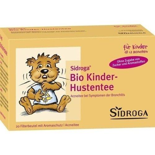 Sidroga Bio Kinder Hustentee Filterbeutel, 20 St. Beutel
