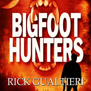 Bigfoot Hunters audiobook cover art
