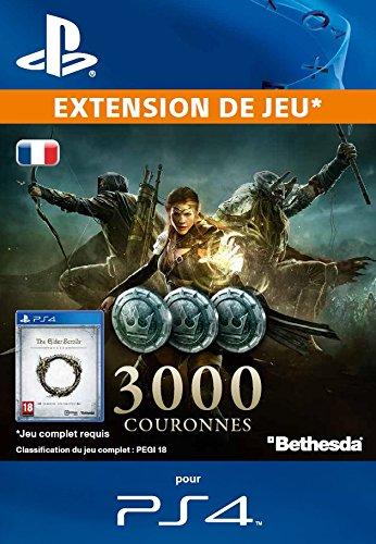 The Elder Scrolls Online : 3000 Couronnes [Extension De Jeu] [Code Jeu PSN PS4 - Compte français]